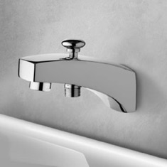 Bathtub Spout with Diverter