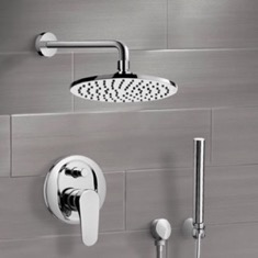 Shower System with 8