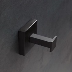 Wall Mounted Matte Black Hook
