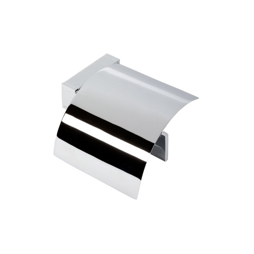 Toilet Paper Holder, Contemporary, Chrome, Brass, Geesa Modern