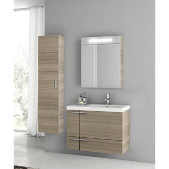 31 Inch Larch Canapa Bathroom Vanity Set ACF ANS303