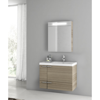 31 Inch Larch Canapa Bathroom Vanity Set ACF ANS304