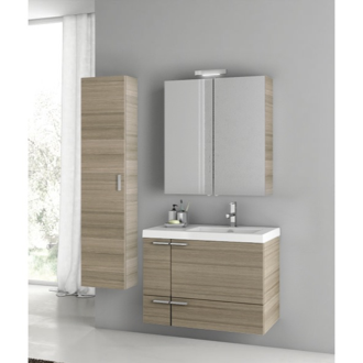 31 Inch Larch Canapa Bathroom Vanity Set ACF ANS305