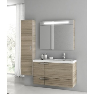 39 Inch Larch Canapa Bathroom Vanity Set ACF ANS320