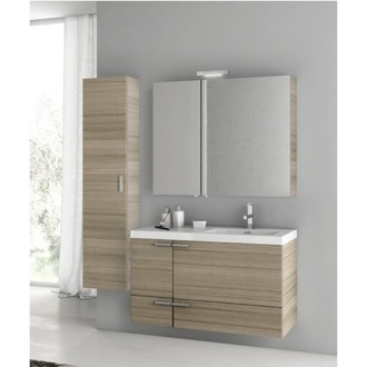 39 Inch Larch Canapa Bathroom Vanity Set ACF ANS322