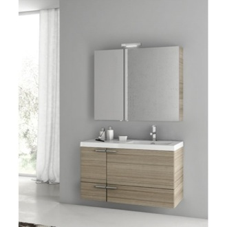 39 Inch Larch Canapa Bathroom Vanity Set ACF ANS323