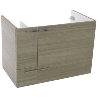 Vanity Cabinet 31 Inch Wall Mount Larch Canapa Bathroom Vanity Cabinet ACF L417LC