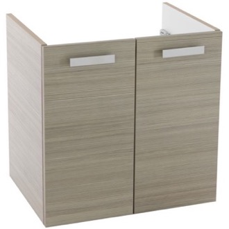 22 Inch Wall Mount Larch Canapa Bathroom Vanity Cabinet ACF L425LC