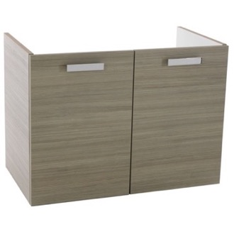 30 Inch Wall Mount Larch Canapa Bathroom Vanity Cabinet ACF L427LC