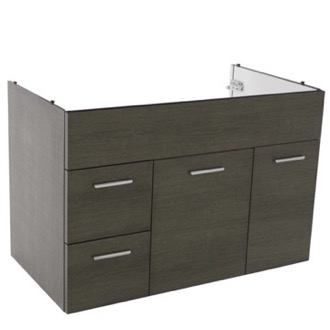 vanity cabinet 33 inch wall mount grey oak bathroom vanity cabinet acf l585go