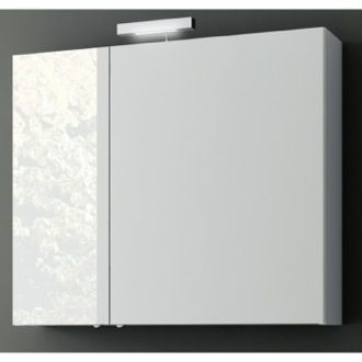 35 Inch Wall Mounted Medicine Cabinet with 2 Doors ACF S720