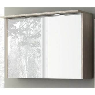 34 Inch Lighted Medicine Cabinet ACF S738LC