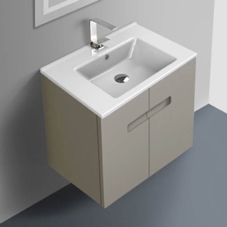 24 Inch Vanity Cabinet With Fitted Sink ACF NY24