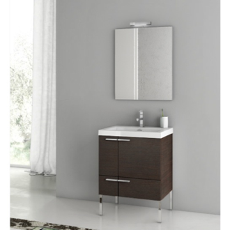 23 Inch Bathroom Vanity Set ACF ANS01-Wenge