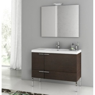 39 Inch Bathroom Vanity Set ACF ANS04-Wenge