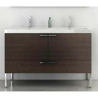 47 Inch Vanity Cabinet With Fitted Sink ACF ANS36
