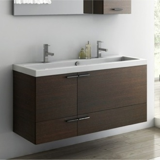 47 Inch Vanity Cabinet With Fitted Sink ACF ANS39