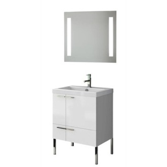 Bathroom Vanity 23 Inch Bathroom Vanity Set ACF ANS220-Larch Canapa