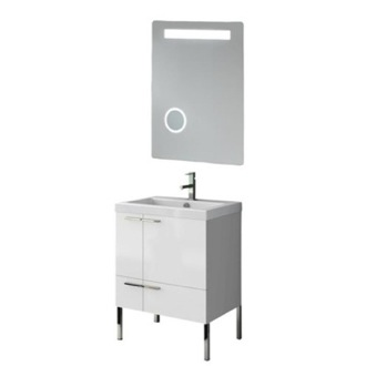 Bathroom Vanity 23 Inch Bathroom Vanity Set ACF ANS222-Larch Canapa