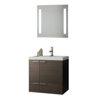 Bathroom Vanity 23 Inch Bathroom Vanity Set ACF ANS225-Larch Canapa