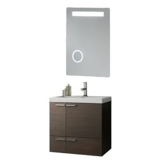 Bathroom Vanity 23 Inch Bathroom Vanity Set ACF ANS227-Larch Canapa