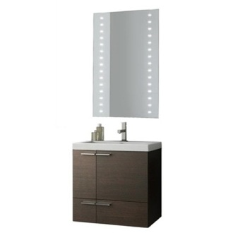 Bathroom Vanity 23 Inch Bathroom Vanity Set ACF ANS229-Larch Canapa