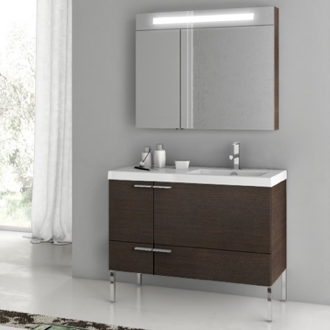 39 Inch Bathroom Vanity Set ACF ANS23-Wenge