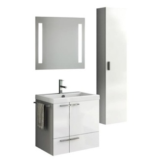 Bathroom Vanity 23 Inch Bathroom Vanity Set ACF ANS235-Larch Canapa