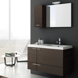 39 Inch Bathroom Vanity Set ACF ANS24-Wenge