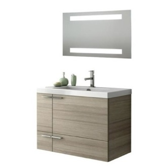 Bathroom Vanity 31 Inch Bathroom Vanity Set ACF ANS240-Larch Canapa
