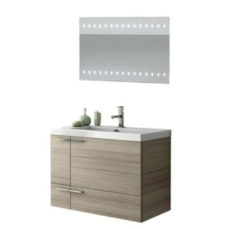 Bathroom Vanity 31 Inch Bathroom Vanity Set ACF ANS243-Larch Canapa