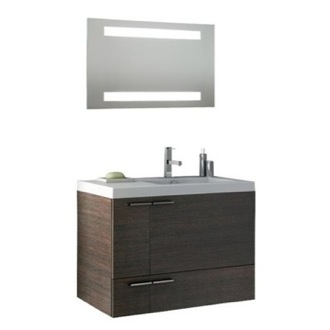 Bathroom Vanity 31 Inch Bathroom Vanity Set ACF ANS244-Larch Canapa