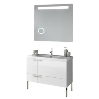 Bathroom Vanity 39 Inch Bathroom Vanity Set ACF ANS249-Larch Canapa