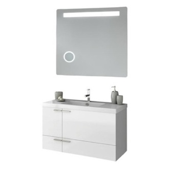 Bathroom Vanity 39 Inch Bathroom Vanity Set ACF ANS251-Larch Canapa
