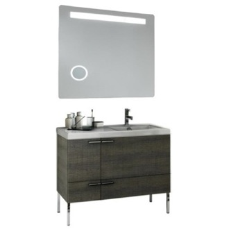 Bathroom Vanity 39 Inch Bathroom Vanity Set ACF ANS257-Larch Canapa