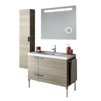 Bathroom Vanity 39 Inch Bathroom Vanity Set ACF ANS263-Larch Canapa