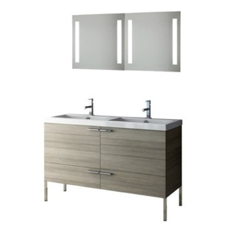 Bathroom Vanity 47 Inch Bathroom Vanity Set ACF ANS275-Larch Canapa