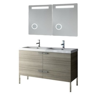 Bathroom Vanity 47 Inch Bathroom Vanity Set ACF ANS277-Larch Canapa