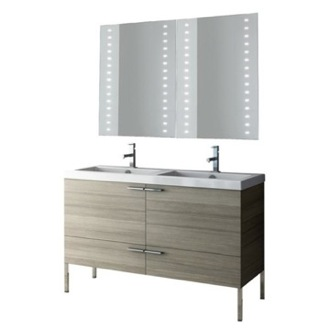 Bathroom Vanity 47 Inch Bathroom Vanity Set ACF ANS279-Larch Canapa