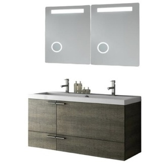 Bathroom Vanity 47 Inch Bathroom Vanity Set ACF ANS282-Larch Canapa