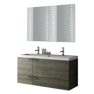 Bathroom Vanity 47 Inch Bathroom Vanity Set ACF ANS284-Larch Canapa