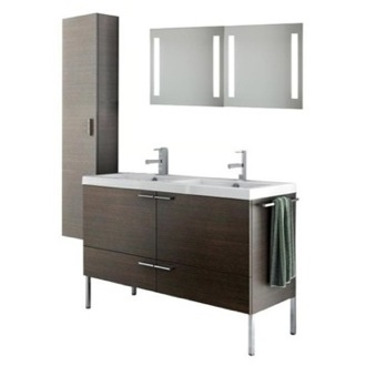 Bathroom Vanity 47 Inch Bathroom Vanity Set ACF ANS295-Larch Canapa