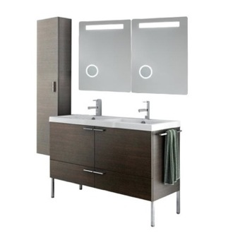 Bathroom Vanity 47 Inch Bathroom Vanity Set ACF ANS297-Larch Canapa