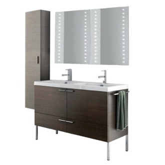 Bathroom Vanity 47 Inch Bathroom Vanity Set ACF ANS335-Larch Canapa