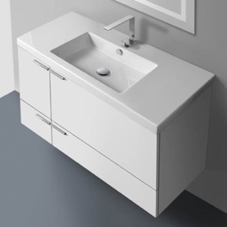 39 Inch Vanity Cabinet With Fitted Sink ACF ANS34