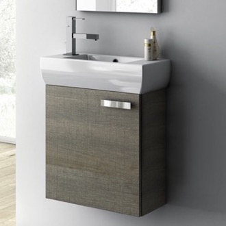 bathroom vanity 18 inch vanity cabinet with fitted sink c13 acf c13