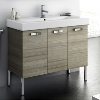 39 Inch Vanity Cabinet With Fitted Sink ACF C16