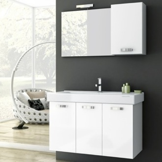 39 Inch Bathroom Vanity Set ACF C07