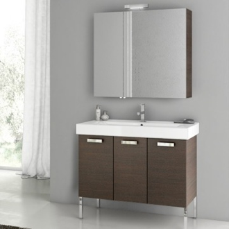 39 Inch Bathroom Vanity Set ACF C09-Wenge