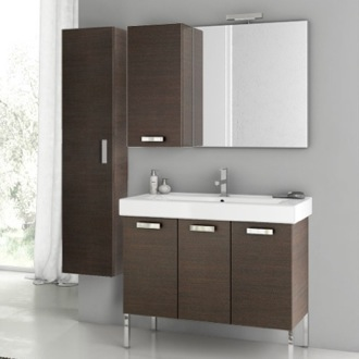 39 Inch Bathroom Vanity Set ACF C11-Wenge